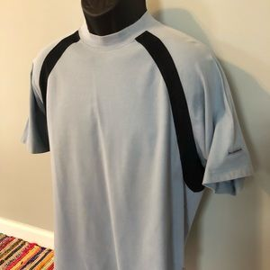 90s Burberry Golf Tee Shirt Stripe Vintage Logo
